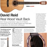 'Acoustic' Magazine ***** VaultBack Review October 2011