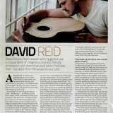 Luthier Profile by 'Acoustic' magazine 2009