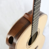 Auditorium Acoustic Guitar Auditorium Front Profile Walnut