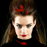 Aisling Dow Red and Black