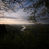 Kinnoull hill early morning