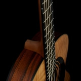 Acoustic Guitar Details Beveled Fingerboard