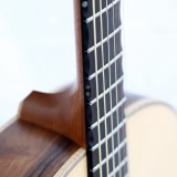 Acoustic Guitar Details Chamfered Fingerboard