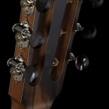 Guitar Heads and Tuners Macassar Ebony Back Plate