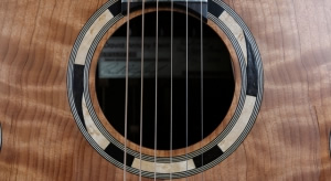 Guitar Sound Hole Details