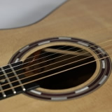 Acoustic Guitar Sound Hole Detail