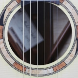 Acoustic Guitar Sound Hole New Auditorium Rossette