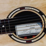 Acoustic Guitar Sound Hole Purpleheart Sycamore