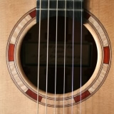 Acoustic Guitar Sound Hole Realwood Vaultback