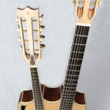 Vaultback Acoustic Guitar From Above Front Combolin
